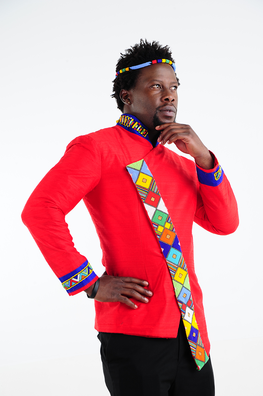 Traditional Men Shifting Sands African Couture